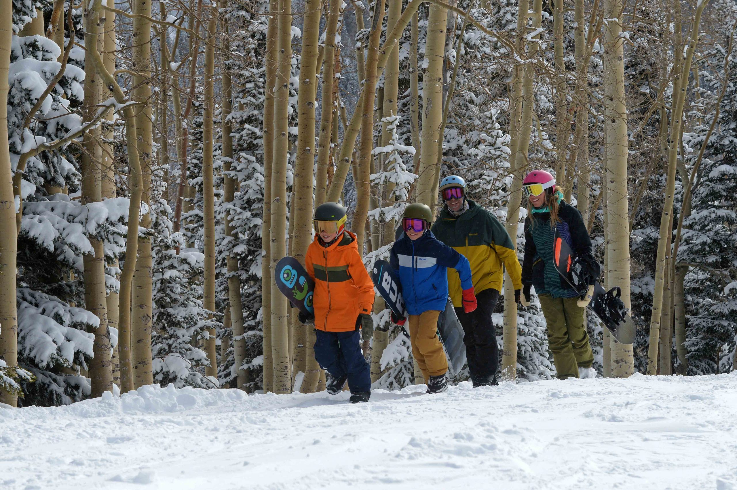 Family Ski trips to Steamboat